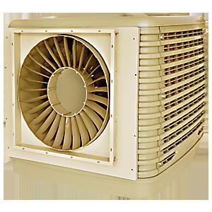 JH30AP-32D8 refrigeradores de ar de água de teto grande fluxo de ar condicionadores de ar industriais
