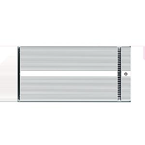 Aquecedor elétrico infravermelho distante JH-NR16-18A para banheiro 1650W