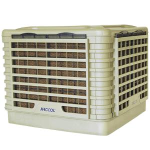 JH18AP-31D8-2 Refrigerador de ar evaporativo industrial tanque de água ventilador de ar almofada de resfriamento de água
