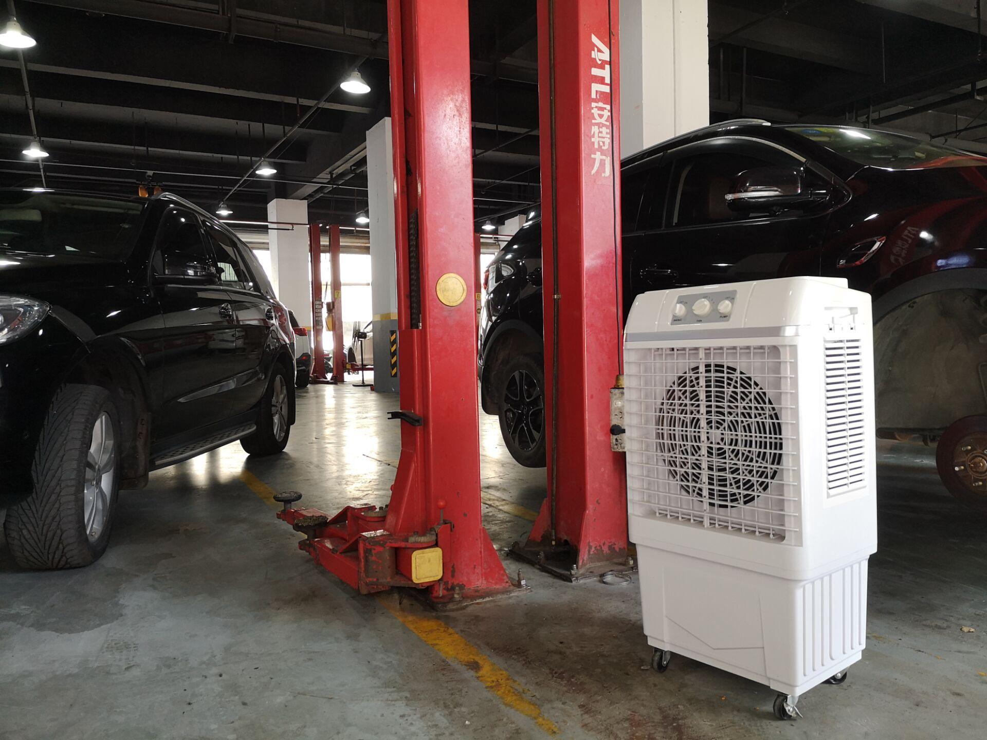 Favorece o resfriamento de ponto fixo externo: refrigerador de ar móvel